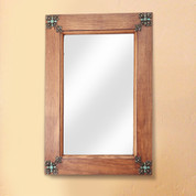Old Door Rustic Mirror, Tuscan Rustic Mirror