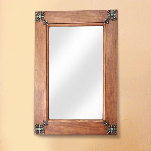 Old Door Rustic Mirror, Tuscan Rustic Mirror
