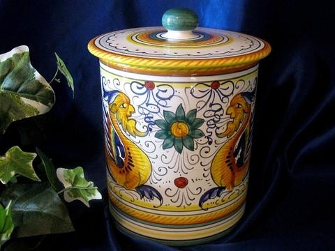Deruta Canister Biscotti Jar