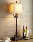 Tuscan Lamp, Tuscan Rustic Table Lamp