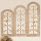 Tuscan Arch Window Wall Decor