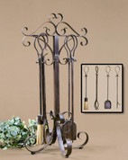 Tuscan Fireplace Tool Set