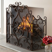 Tuscan Fireplace Screen