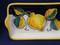 Deruta Tuscan Lemons Tray, Deruta Tray