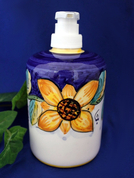 Deruta Italian Ceramic Soap Pump