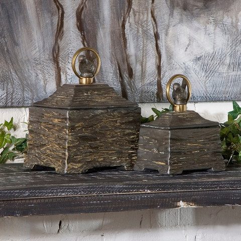 Rustic Container Boxes