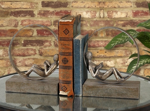Tuscan Bookends