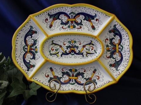 Deruta Antipasto Dish Plate