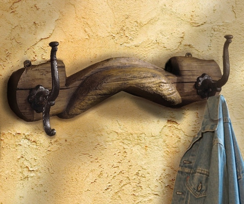 Ox Yoke Coat Rack