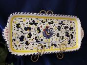Deruta Gallo Rooster Platter