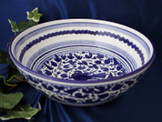 Deruta Arabesco Bowl