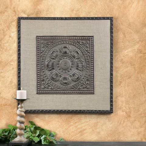 Tuscan Wall Panel, Tuscan Wall Plaque