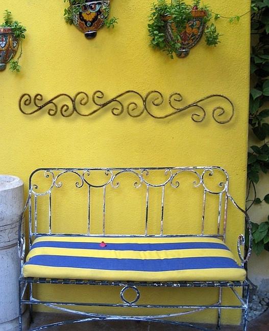 Casa Bonita Iron Wall Door Topper Bellasoleil Com
