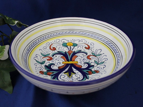 Deruta Ricco Pasta Bowl