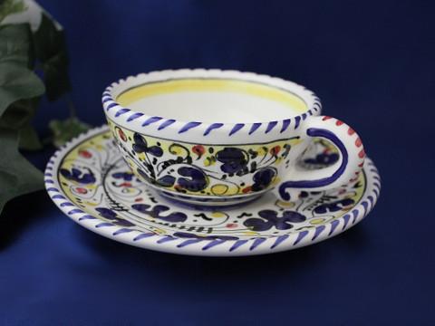 Deruta Orvieto Tea Cup and Saucer