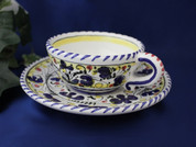 Deruta Orvieto Tea Cup and Saucer