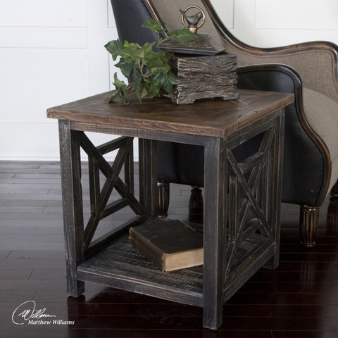 Tuscan End Table