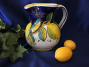Deruta Lemon Pitcher