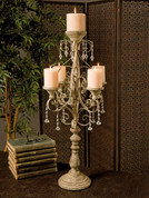 Tuscan Candle Holder, Tuscan Candelabra