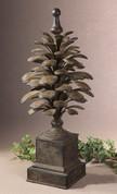 Pine Cone Statue