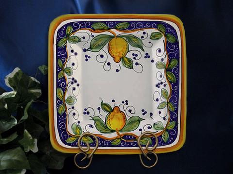 Deruta Lemon Plate