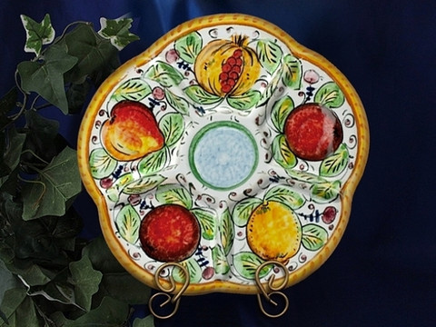Deruta Frutta Antipasto Plate Platter
