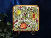 Tuscan Lemons Square Plate