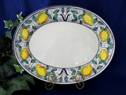 Italian Lemon Serving Platter