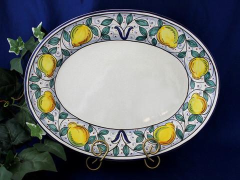 Italian Lemon Serving Platter