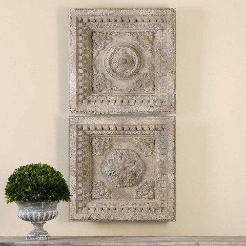 Tuscan Wall Plaques