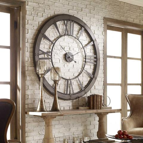Large Roman Numeral Clock