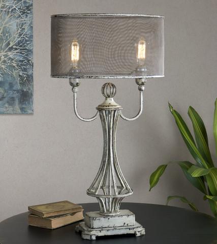 French Tuscan Lamp