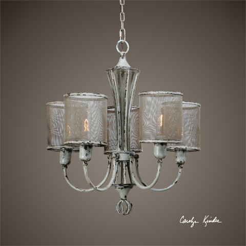 Tuscan Rustic Chandelier