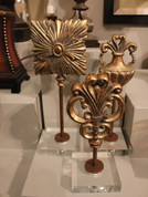 Tuscan Finial Statues