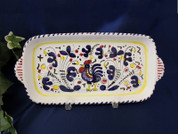 Deruta Gallo Rooster Tray