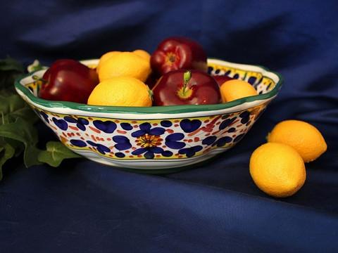 Deruta Arabesco Bowl