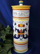 Deruta Ricco Spaghetti Canister