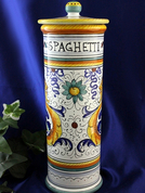 Deruta Raffaellesco Spaghetti Canister