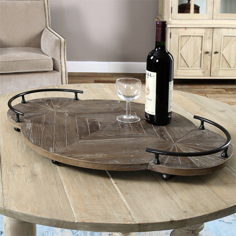 Tuscan Serving Tray, Tuscan Ottoman Tray