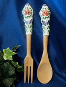 Deruta Salad Tongs