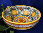 Italian Lemons Serving Bowl