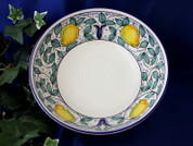 Deruta Lemon Serving Bowl
