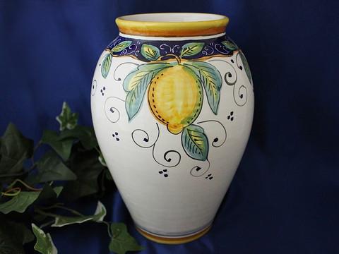Deruta Lemon Vase