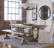 Reclaimed Wood Dining Table, Stratford Dining Table