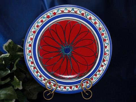 Sicilian Plate, Sicilian Serving Platter, Sicilian Geometrico Plate