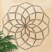 Geometric Wall Grille, Flower Wall Grille, Floral Wall Grille