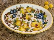 Tuscany Bees Serving Dish