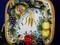 Tuscan Lemons Grapes Serving Platter, Tuscan Lemon Grapes Platter, Tuscan Lemons Plate