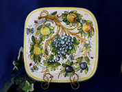 Tuscany Bees Serving Platter, Toscano Bees Serving Platter, Bumble Bee Serving Platter