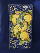 Italian Wall Tile, Tuscan Lemons Wall Tile, Tuscany Wall Tile, Italian First Stone